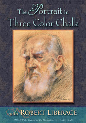 The Portrait in Three Color Chalk