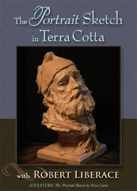 The Portrait Sketch in Terra Cotta
