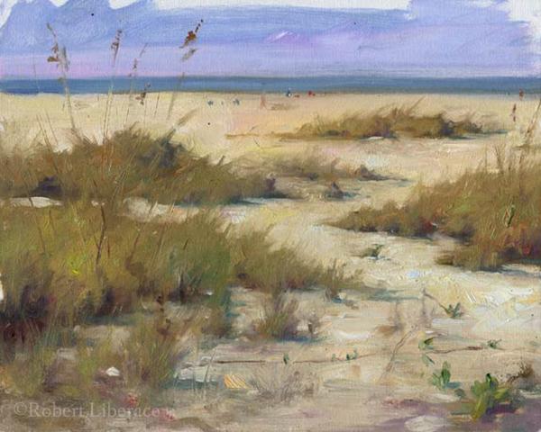 Robert Liberace, Longboat Key-landscape