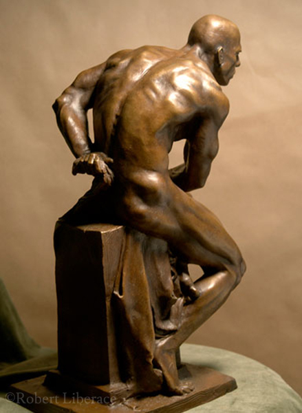 Robert Liberace, Herculese, shown in bronze