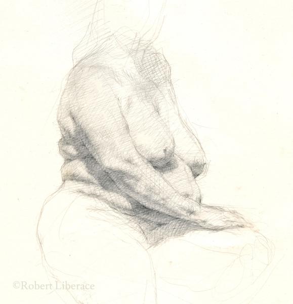 Robert Liberace, silverpoint