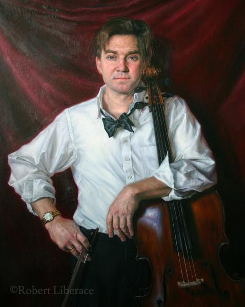 Robert Liberace, Steve Honigberg, oil